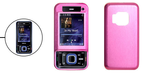 Aluminum Hard Case Cover with Screen Protector for Nokia N81