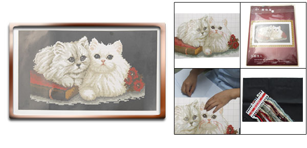A Couple of Cats Counted Cross Stitch Cross-Stitch Kit