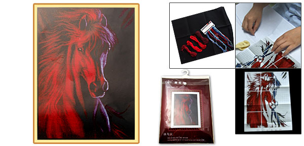 Horse X-Stitch Counted Cross Stitch Cross-Stitch Kit