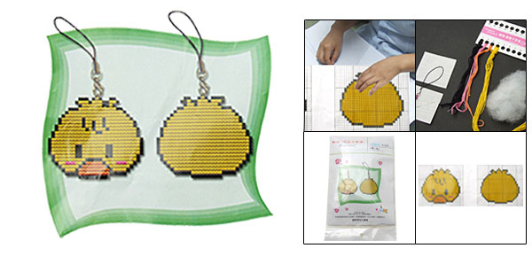Two Sided Counted Cross Stitch Cross-Stitch Kit A Lovely Duck Small