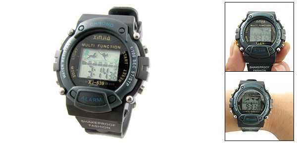 Children's Sports Digital Wrist Watch with Alarm Stopwatch