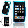 Blue Aluminum Case Protector with Clip for iPod Touch 2nd Gen 2G