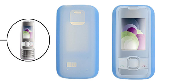 Skyblue Silicone Mobile Phone Case for Nokia 7610 Supernova