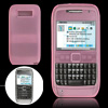 Pink Silicone Skin Protective Phone Case for Nokia E71