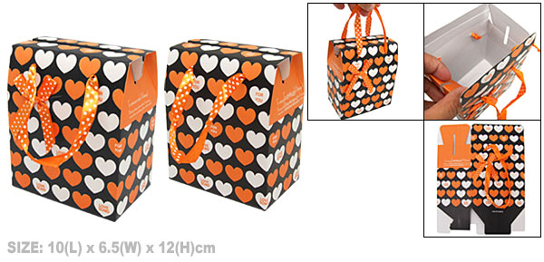 Heart Design Birthday Valentine Paper Gift Box Party Favor