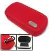 With Carabiner Hard Carrying Pouch Case Holder for PSP 3000 2000 Red