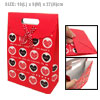 Sweet Heart Red Valentine Gift Wedding Favor Paper Bag