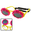 Animal Shaped Flip-up Children Fun Yellow Frame Plastic Sunglasse...