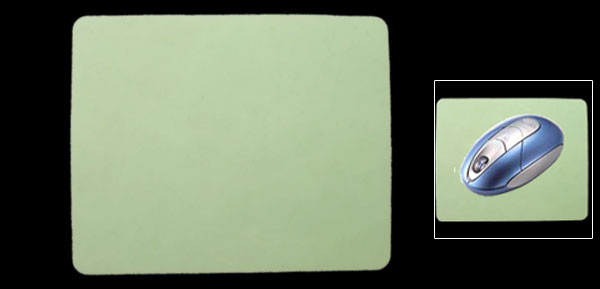 Light Green PC Computer Laptop Notebook Mousepad Mouse Pad
