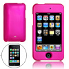 Amaranth Pink Hard Plastic Case for iPod Touch 2nd Gen