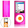Plastic Hard Case for iPod Nano Chromatic 4th Generation Gen 8GB 16GB Purple Pink