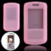 Pink Silicone Skin Phone Protector Case for Samsung SGH-E251C