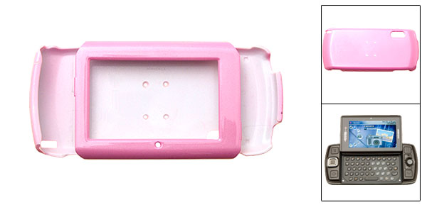 Pink Hard Plastic Mobile Phone Case for Sharp Sidekick LX