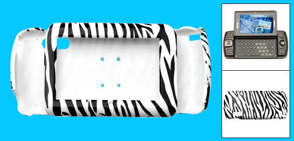 Zebra Stripe Hard Plastic Mobile Phone Case for Sharp Sidekick LX