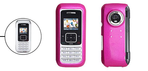 Hard Plastic Protective Phone Case for LG VX9900 Amaranth Pink
