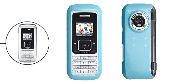 Skyblue Hard Plastic Mobile Phone Case for LG VX9900