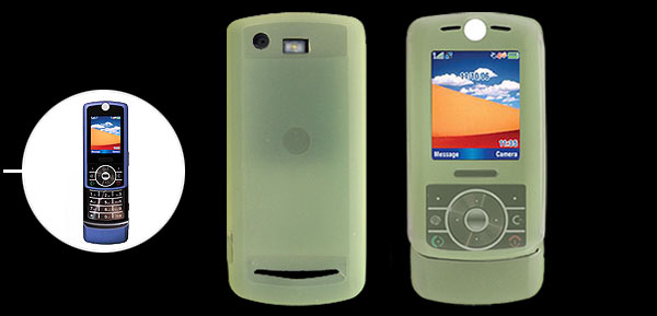 Light Green Silicone Skin Protective Case for Motorola RIZR Z3