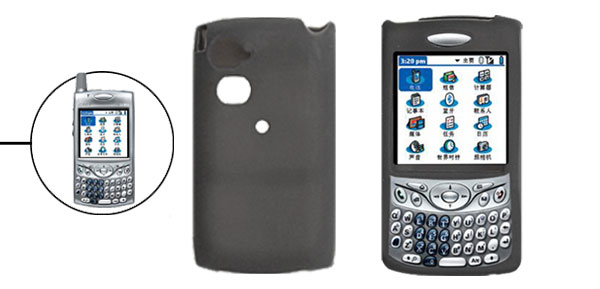 Black Silicone Protective Case Cover for Palm Treo 650