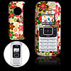 Hard Plastic Case with Colorful Flower Pattern for LG VX9900