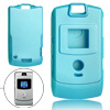 Plastic Protector Hard Cover Skyblue Case for Motorola V3