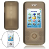 Phone Gray Silicone Skin Protective Case for Sony Ericsson W580