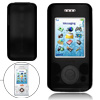 Black Silicone Skin Protective Phone Case for Sony Ericsson W580