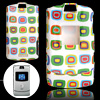 Colorful Pattern Hard Plastic Protective Case for Motorola V3
