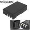 1000mAh Digital Camera Li-Ion Battery for Nikon D40 D60 D40x ( EN-EL9 ENEL9 )