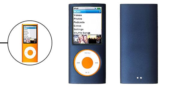 Hard Plastic Case Cover for iPod Nano Chromatic 4th Gen 4G