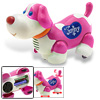 Funny Happy Bump & Go Dog Toys with Music Flash