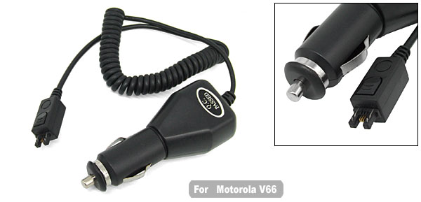 Replacement Car Auto Charger for Cell Phone Motorola V66 V60