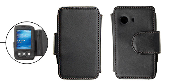 Soft Man-made Leather Case Pouch Holder for Dopod D810