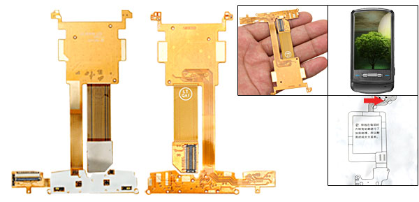 LCD Screen Ribbon Flex Cable for LG KE970 Shine