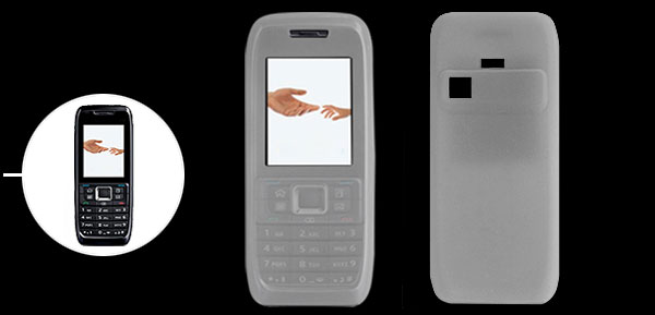 Clear Silicone Skin Case Protector for Nokia E51