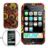 Colorful Circle Silicone Skin Case Cover for Apple iPhone 3G