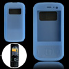 Blue Silicone Skin Case Protector for Nokia N85