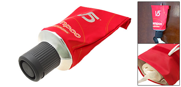 Red Toothpaste Gadget Tissue Paper Box Roll Cover Dispenser