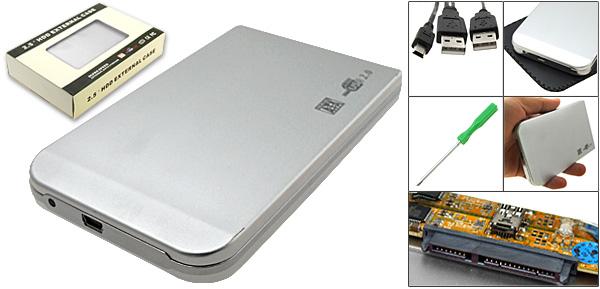 Aluminum SATA 2.5