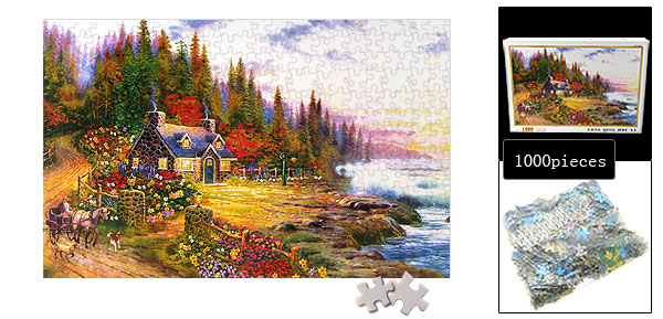 Carriage House Jigsaw Puzzles DIY Toy for Children
