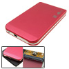 "Aluminum USB 2.0 HDD External Enclosure Case for 2.5"" SATA Hard Drive"