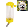 Pet Dog Puppy Gerbil Hamster Cage Water Feeder Bottle Yellow