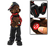 Hip-Hop Plush Dancing Boy Wiggles Toy Doll with Red Jacket