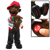 Dancing Hip-Hop Boy Plush Wiggles Toy Doll White Jacket