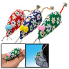 Keychain Bag Decoration Amazing 3 Cloth Mouse with Small Bell