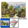 Exciting Educational Toy 1000 Pieces Village Jigsaw Puzzles