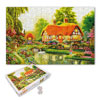 Kids\' DIY Educational Toy Summer Scenery Jigsaw Puzzles