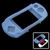 Skyblue Silicone Skin Protector Case for Sony PSP 3000