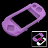 Purple Silicone Skin Protector Case for Sony PSP 3000 2000