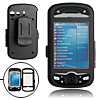 Black Aluminum Hard Case Cover with Clip for HTC Mogul PPC-6800