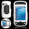 Aluminum Hard Case Cover Silvery with Clip for HTC Mogul PPC-6800